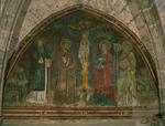 Fresque de la chapelle des Cordeliers (mur est)