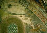 Fresque de la chapelle des Cordeliers (mur nord)