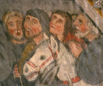 Fresque de la chapelle des Cordeliers (mur ouest)